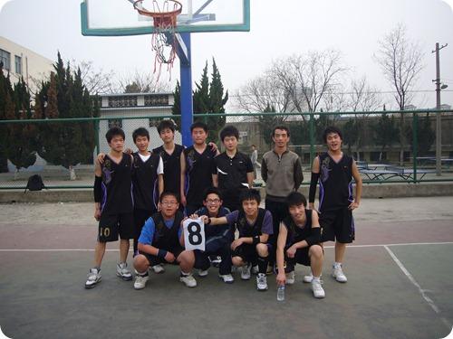 8班篮球队