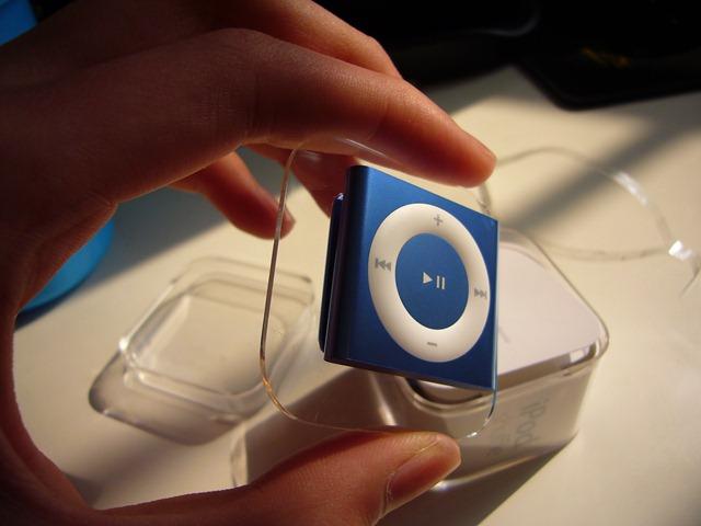 iPod shuffle 出盒